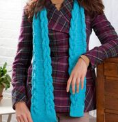 Go to Product: Red Heart Cable-Edge Scarf in color