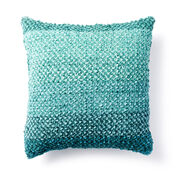 Bernat Linen Stitch Knit Pillow