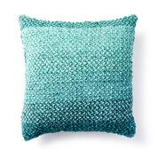 Bernat Linen Stitch Knit Pillow