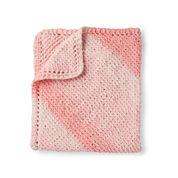 Bernat Corner to Corner Garter Knit Blanket