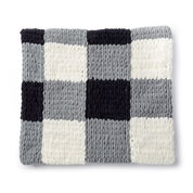 Bernat Alize EZ Checked Blanket