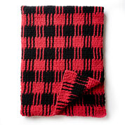 Go to Product: Bernat Crochet Buffalo Plaid Afghan in color