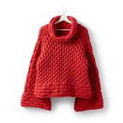Sugar Bush Polar Berry Knit Pullover, XS