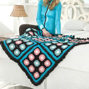 Go to Product: Red Heart Flower Accents Throw in color