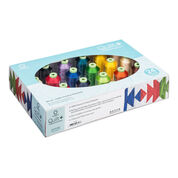 Go to Product: Coats & Clark Quilt + Quilting & Embroidery Thread 24 Spool Set in color