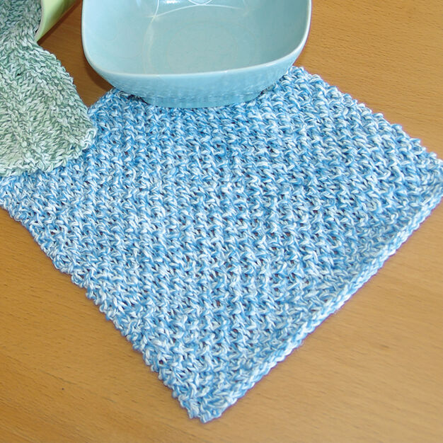 Lily Sugar'n Cream Dishcloth in color
