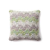 Bernat Mellow Bargello Crochet Pillow
