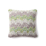 Bernat Mellow Bargello Crochet Pillow