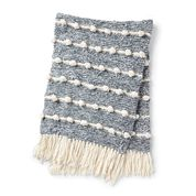 Go to Product: Bernat Bobble Line Knit Blanket in color