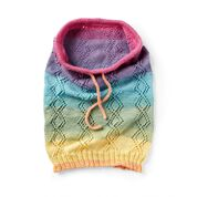 Go to Product: Red Heart Crossed Lace Knit Snood in color