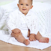 Go to Product: Red Heart Shell Stitch Christening Set in color