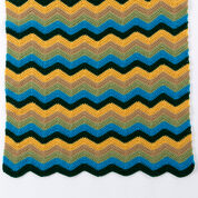 Go to Product: Red Heart 5-Color Radiating Ripple Throw, S in color