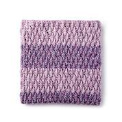 Bernat Textured Life Crochet Blanket