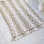 Go to Product: Red Heart Crochet Natural Stripes Rug in color