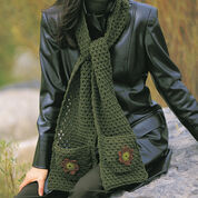 Go to Product: Patons Applique Kerchief & Scarf in color