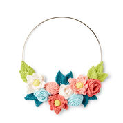 Go to Product: Lily Sugar'n Cream In Bloom Knit Wreath in color