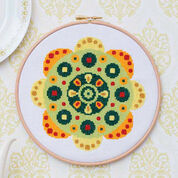 Go to Product: Coats & Clark Flower in Embroidery Hoop in color
