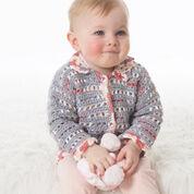 Bernat Baby's Lacy Jacket, 6 mos