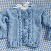 Red Heart Prince Cardigan, 6 mos