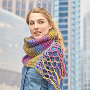 Red Heart Exploration Scarf