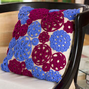 Go to Product: Red Heart Circle Motif Pillow in color