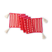 Go to Product: Lily Sugar'n Cream Sprinkle of Love Knit Table Runner in color