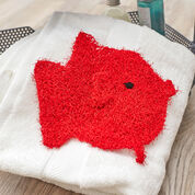 Red Heart School of Fish Scrubbies