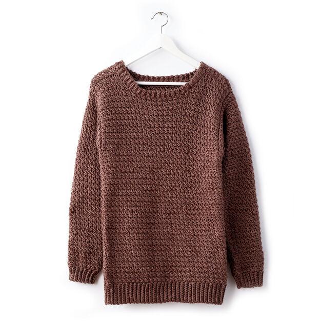84c3f19592c2d Caron Big Easy Crochet Pullover