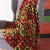 Go to Product: Patons Fall Colors Granny Blanket in color