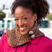 Go to Product: Red Heart Textured Neck Warmer in color