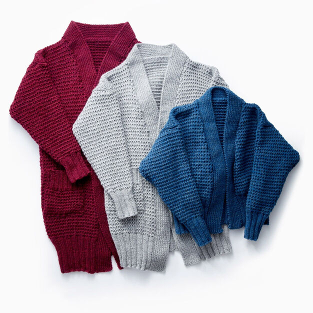 ea284fc28 Patons Long Weekend Knit Cardigan