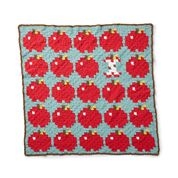Go to Product: Bernat Crochet How 'Bout Them Apples? Baby Blanket in color