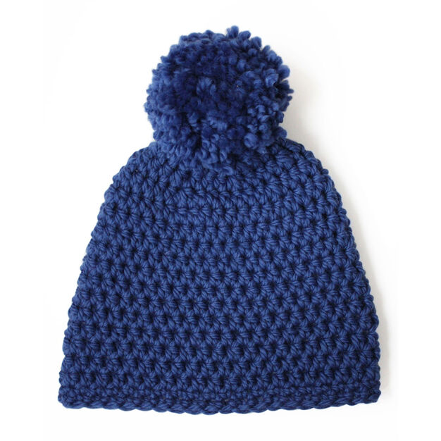 Patons Hat in a Jiffy in color