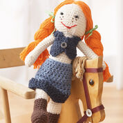 Lily Sugar'n Cream Denim Doll