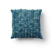 Bernat Braidy Bunch Crochet Pillow