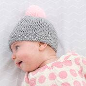 Red Heart Newborn Cozy Cap, Preemie