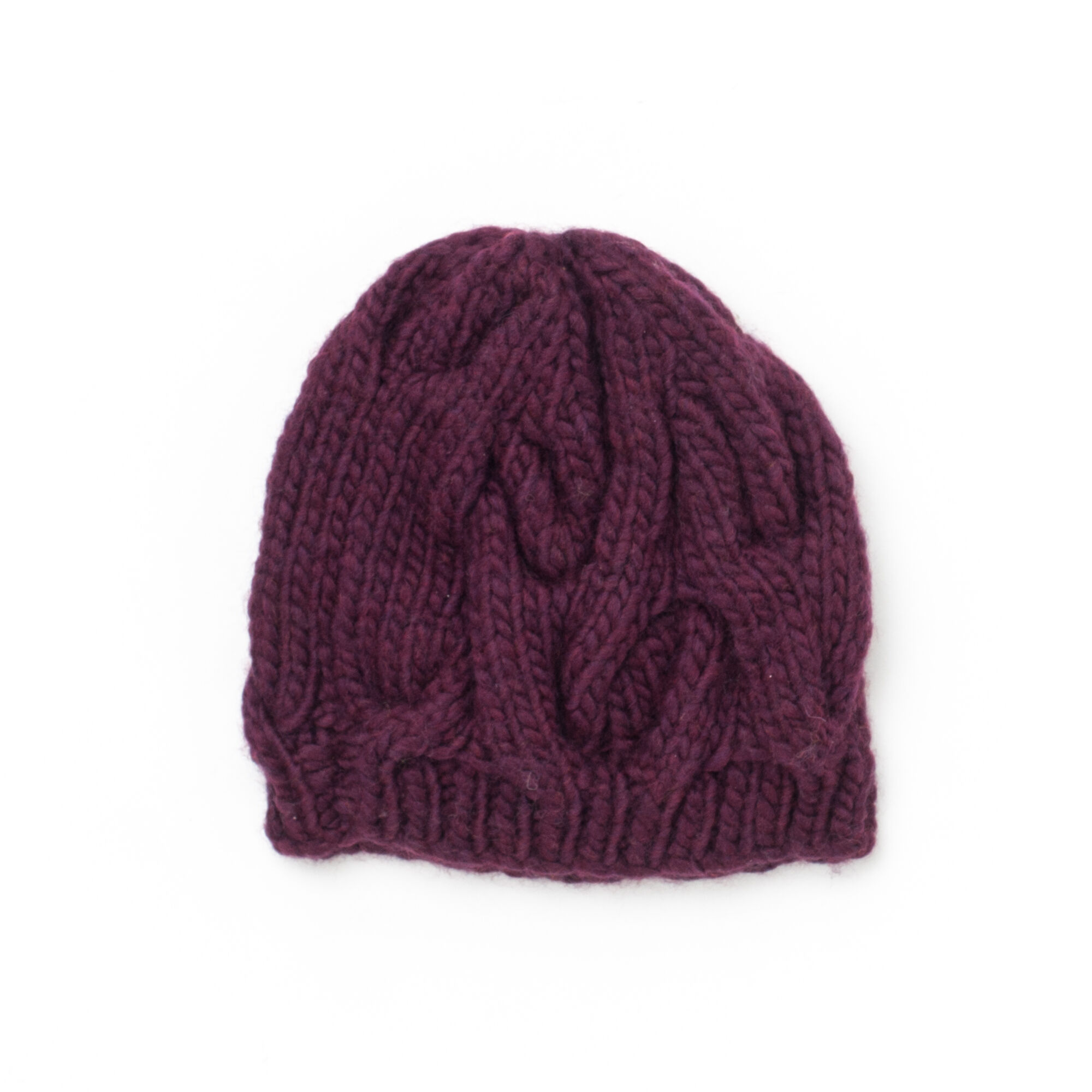 Bernat Cable Hat | Yarnspirations