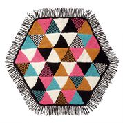 Go to Product: Bernat Knit Triangles Hexagon Blanket in color