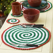 Go to Product: Red Heart Pinwheels for Table & Tree, Garland in color