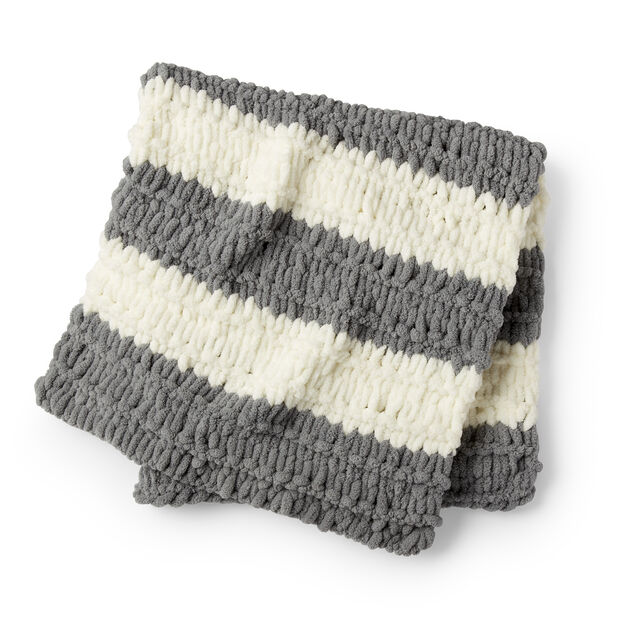 Bernat Alize Speedy Stripes EZ Baby Blanket in color