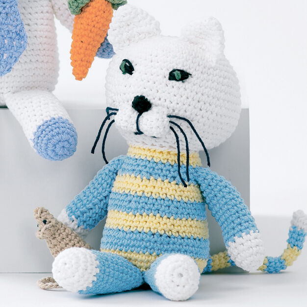 Lily Sugar'n Cream Baby's Kitty and Mouse