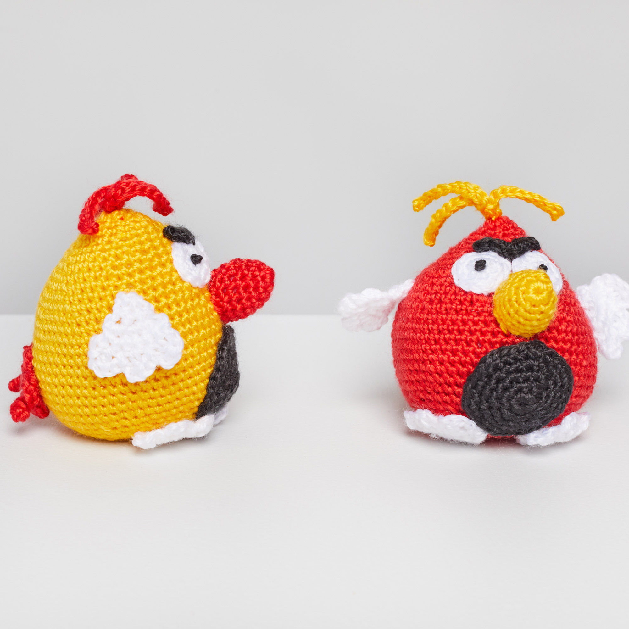 Amigurumi: Angry Birds Minion Pig and King Pig - 7 Robots | 2000x2000