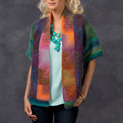 Red Heart Mitered Square Jacket, S