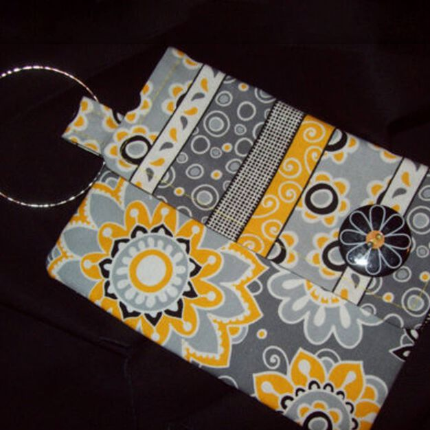 Dual Duty Bangle Clutch Bag in color