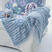 Bernat Soft Stripes Blanket