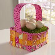 Coats & Clark Woven Easter Basket