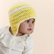 Red Heart Child's Crochet Earflap Hat