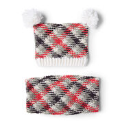 Go to Product: Red Heart Planned Pooling Hat and Cowl Set in color