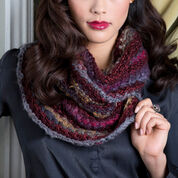 Red Heart Bamboo Stitch Cowl