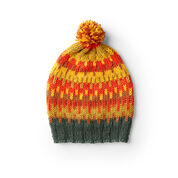 Go to Product: Caron Graphic Knit Fair Isle Hat in color